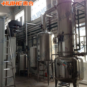 Double Effect Falling Film Juice Evaporator / Concentrator pictures & photos