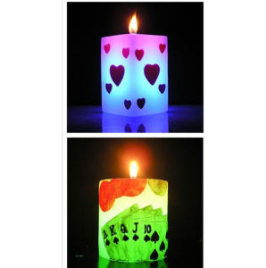Birthday Art Candle, Made of Paraffin Wax pictures & photos