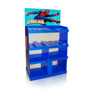 Cardboard Floor Display Stand for Spider Man, Point-of-Sale Floor Display pictures & photos