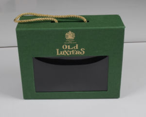 High Quality Luxury Paper Cardboard Gift Boxes with Clear Window pictures & photos