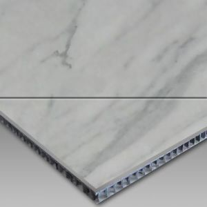 Honey Comb Composite Tiles/Marble, Carrara Aluminium Honey Comb Composite Tiles pictures & photos