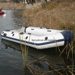 Liya 2-6.5m Foldable Inflatable Soft Bottom PVC Rubber Dinghy Boat for Sale pictures & photos