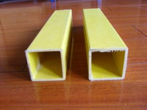 UV Protection High Strength FRP Rectangular Tube pictures & photos