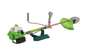 Shoulder Gasoline Brush Cutter with Blade pictures & photos