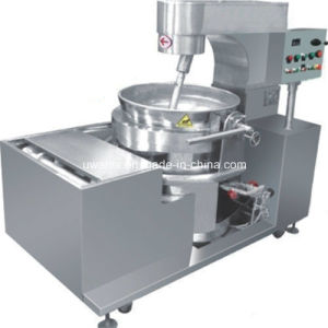 Automatic Popcorn Cooking Pot with Mixer pictures & photos