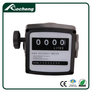4 Digital Diesel Fuel Oil Flow Meter Counter pictures & photos