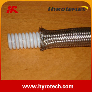 Stainless Steel Braid Convoluted Teflon Hose /SAE 100r14 pictures & photos