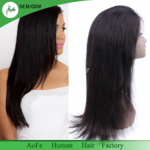 Factory Price Top Quality 100% Human Hair Full Lace Wig pictures & photos