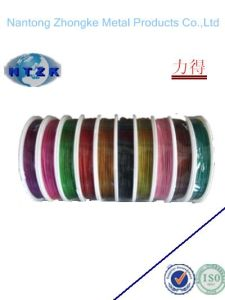 PVC Coated Steel Wire Rope (6X7+FC) pictures & photos