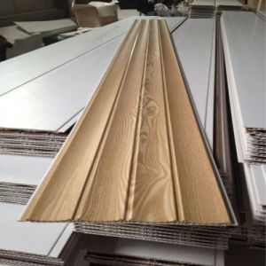 8.5*250mm Wave Lamination PVC Panel Wall Panel Building Waterproof Material pictures & photos