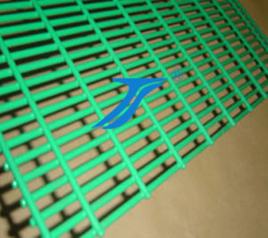 Dark Green PVC Coated Welded Wire Mesh pictures & photos
