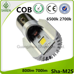 LED Motorcycle Headlight 6500k White M2s Ba20d pictures & photos