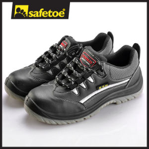 Leather Safety Shoes (L-7189) pictures & photos