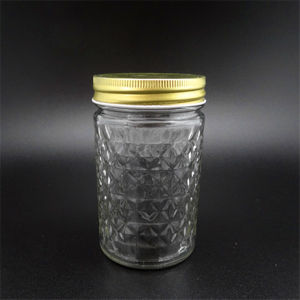 Glass Jar/Glass Container/Glass Honey Jar/Glass Jam Jar/Food Jar/Mason Jar/Spice Jar pictures & photos
