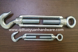 China Manufacture Carbon Steel Galvanized Us Type Turnbuckle/Fastener pictures & photos