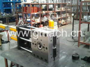 Double Plate Type Continuous Screen Changer for Color Materbatch Extrusion Machine pictures & photos