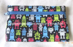 Promotional Customized Neoprene Pencil Case with Full Colors Printing