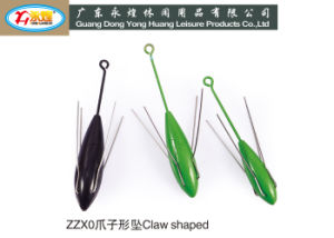 Fishing Lead Weight Fishing Tackle Claw Shaped Breakway Sinker pictures & photos