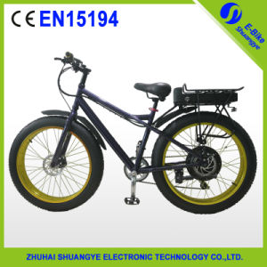 4.0 Fat Tire Electric Bike Bicycle, E-Bike pictures & photos