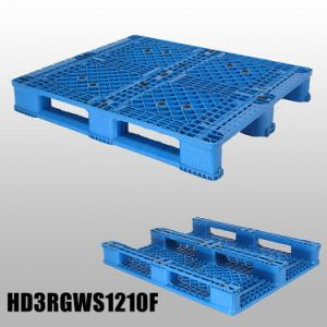48*40 Inch HDPE/PP Stackable Plastic Pallet with Single Side pictures & photos