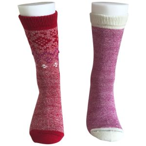 Half Cushion Fashion Keep Warm Wool Socks (JMWL01) pictures & photos