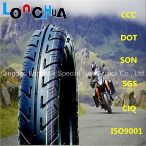 10 Years China Factory Supply Motorcycle Tubeless Tire (90/90-18) pictures & photos