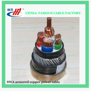 Aluminum Conductor Low Voltage PVC Electric Power Cable