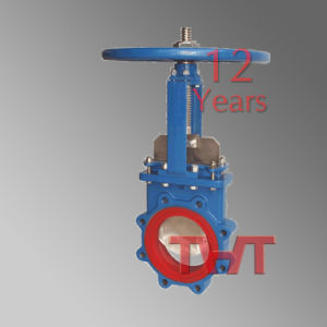 Stainless Steel Wedge Knife Gate Valve pictures & photos