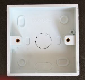 Cheap Price PVC 2 Gang Surface Mount Wall Switch Boxes pictures & photos