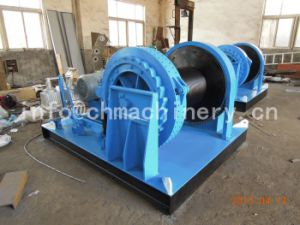 Electric Winch With Groove Drum pictures & photos