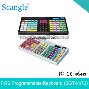 78 Programmable Key 6 Position Electronic Lock Keyboard pictures & photos