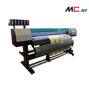 1.9m Eco Solvent Fletbed Plotter Printing Machine with Epson Dx10 pictures & photos