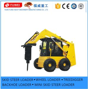 Small Front Loader Bobcat Case Ce Rops Fops Ws 65 Skid Steer Loader
