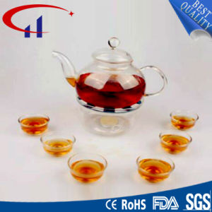 Handmade High-Quanlity Best-Sell Borosilicate Glass Teapot (CHT8120) pictures & photos
