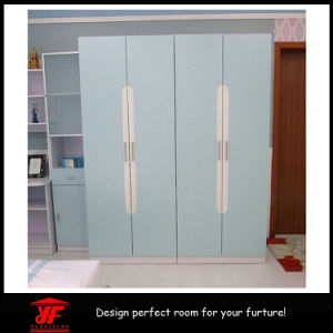China Children Room Furniture Bedroom Set Wooden Wardrobe Design