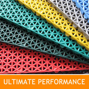 DIY Interlocking Tile for Sports and Residential
