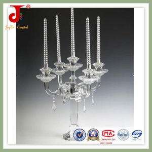 Crystal Candle Holder Candlestick (JD-ZT-007) pictures & photos