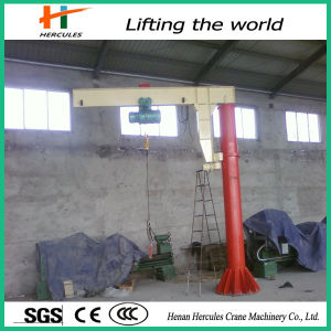 Hoist Floor Mounted Swing Arm Rotatory Jib Crane pictures & photos