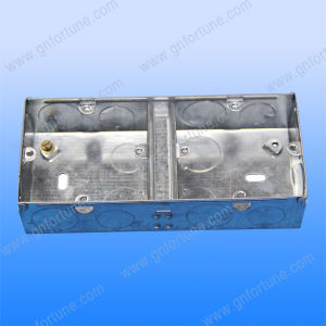 Types of Electric Metal Steel Switch Box pictures & photos