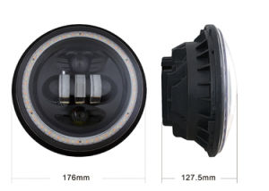 50W 7 Inch LED Headlight for Jeep Wrangler pictures & photos