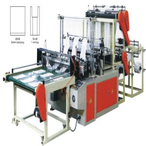 Double-Layer Six-Line Bottom Sealing Bag-Making Machine (WQ-YTDF900-1200) pictures & photos