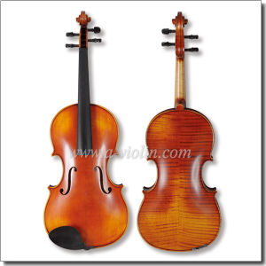 String Musical Instruments High Grade Flamed Maple Viola (LH200S) pictures & photos