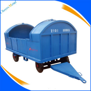 Luggage Trailer for Gse Equipment with Canopy pictures & photos