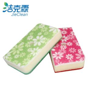 Flower Shape Cleaning Sponge, Scouring Pad, Cleanig Products pictures & photos