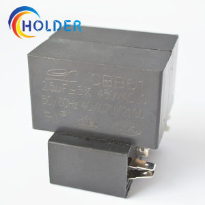 Metallized Polypropylene Film AC Motor Capacitor (CBB61 2.5UF/450V) for Electrical Equipment pictures & photos