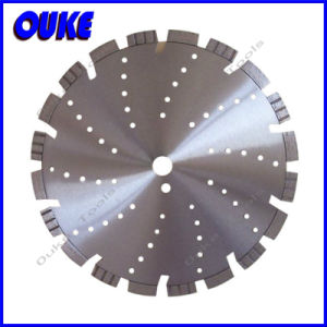 Laser Welded Diamond Saw Blade for Cutting Asphalt pictures & photos