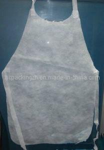 Disposable Medical Surgical Cooking Non Woven Apron (HC0209) pictures & photos