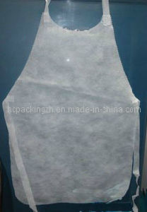 Disposballe Non Woven Apron (HC0209) pictures & photos
