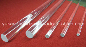 Different Diameter High Purity Clear Quartz Rod for Selling pictures & photos