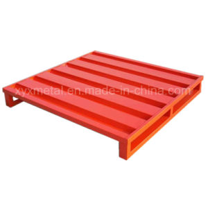 Warehouse Storage Heavy Duty Stacking Steel Pallet pictures & photos